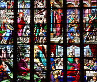 Bernay, Frankreich - 11. August 2016: Kirche Sainte Croix Lizenzfreies Stockbild