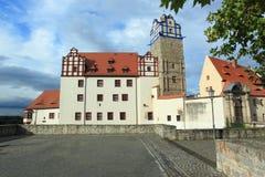 Bernburg castle Stock Images