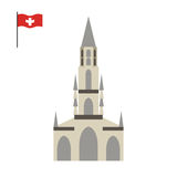 Berne Cathedral. landmark of Switzerland. Architecture attractio Stock Photography