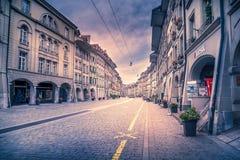 Berne centrale, Suisse image stock