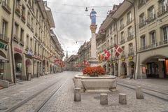 Berne centrale, Suisse photo libre de droits
