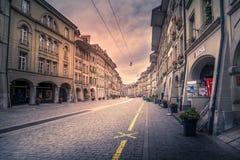Berne centrale, Suisse photographie stock
