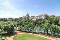 Berne em Suíça Fotos de Stock Royalty Free