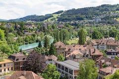 Berne i Schweiz Arkivbild