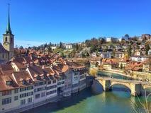 Berne stary miasteczko Zdjęcia Stock