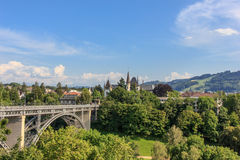 Berne view, Switzerland Royalty Free Stock Photo