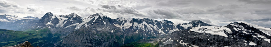 Bernese Alps Royalty Free Stock Photos