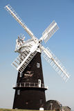 Berney Arms mill, Norfolk Broads. The restored waterpump Berney Arms Mill on Halvergate Marsh in the Norfolk Broads' parish of Reedham, England. The mill was stock images