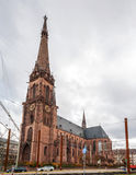Bernhard Church στην Καρλσρούη, Γερμανία Στοκ φωτογραφίες με δικαίωμα ελεύθερης χρήσης