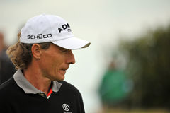 Bernhard Langer  at the 2011 open. In Sandwich Royalty Free Stock Photos