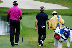 Bernhard Langer and Vijay Singh Royalty Free Stock Photo