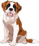 Bernhardiner-Hund lizenzfreie abbildung