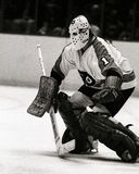 Bernie Parent Philadelphia Flyers goalie Royaltyfria Foton