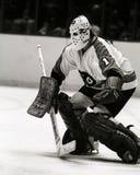 Bernie Parent Philadelphia Flyers goalie Royalty-vrije Stock Foto's