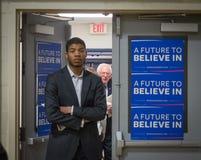 Bernie Sanders Foto de Stock