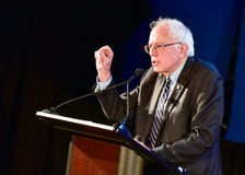 Bernie Sanders - Allen University Photos stock