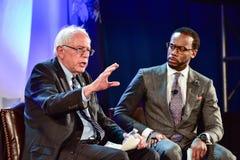 Bernie Sanders - Allen University Stock Photos