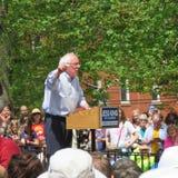Bernie Sanders au rassemblement d'outdor photo libre de droits