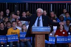 Bernie Sanders campaigning Stock Images