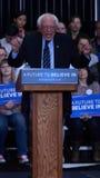 Bernie Sanders campaigning Royalty Free Stock Photos