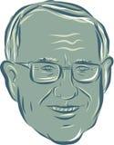 Bernie Sanders de V.S. Senator Drawing Stock Foto