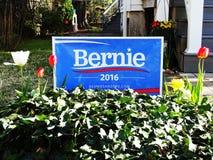 Bernie Sanders för president Royaltyfria Foton