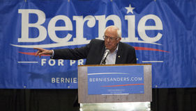 Bernie Sanders für Präsidenten lizenzfreies stockbild