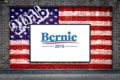 Bernie Sanders für Präsidenten Stockfotos