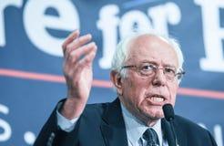 Bernie Sanders fala em New Hampshire Fotografia de Stock Royalty Free