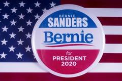 Bernie Sanders 2020 kandyday na prezydenta Obraz Stock