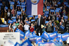 Bernie Sanders rally in Saint Charles, Missouri stock photos