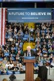 Bernie Sanders rally in Saint Charles, Missouri royalty free stock photos