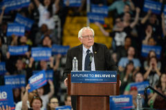 Bernie Sanders rally in Saint Charles, Missouri Royalty Free Stock Photo