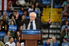 Bernie Sanders rally in Saint Charles, Missouri stock photo