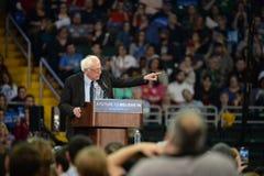Bernie Sanders rally in Saint Charles, Missouri royalty free stock image