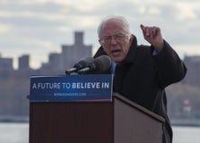 Bernie Sanders - samla i Greenpoint, Brooklyn 4/8/16 Arkivfoto