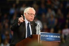 Bernie Sanders samlar i St Charles, Missouri Royaltyfri Bild