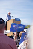 Bernie Sanders. Speaking at a rally in Boulder, Colorado Royalty Free Stock Image