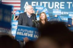 Bernie Sanders Super Tuesday Stock Photos