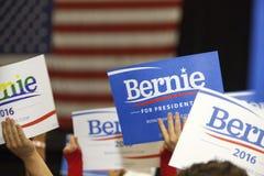 Bernie Sanders wiec Fotografia Royalty Free