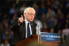Bernie Sanders zbierają w świętym Charles, Missouri Obraz Royalty Free