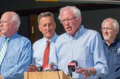 Bernie Speaks At Fema Press Conference Stock Photo