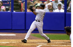 Bernie Williams dei New York Yankees Immagini Stock