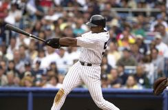 Bernie Williams New York Yankees stock images