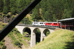 Bernina adventure Stock Image