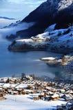 Bernina Durchlauf die Schweiz Lizenzfreie Stockfotos