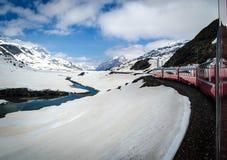 Bernina expreso Fotografía de archivo libre de regalías