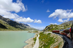 Bernina express Stock Photography