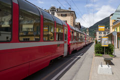 Bernina Express Royalty Free Stock Image