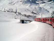 Bernina express Stock Photo